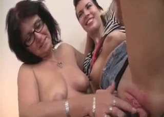 Extreme sex with daughter and mother