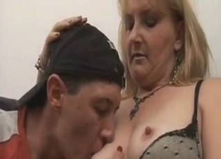 Fat MILF and her mature brother