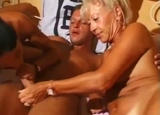 Tanned incestuous family fucking