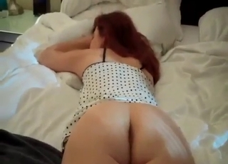 Redheaded MILF fingered real nice