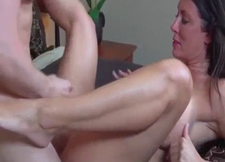 Pink panties mommy sucking his cock