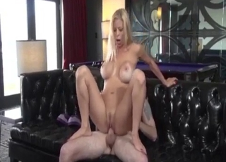 Leggy mommy fucking her hung son
