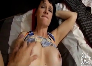 Trimmed pussy chick gets wrecked