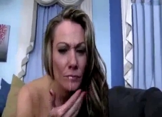 Extreme POV banging with a blonde mommy