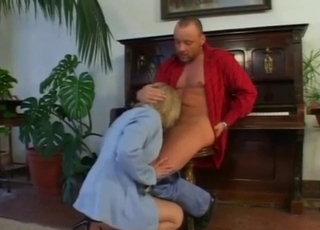 Incredible blowjob for a hung daddy