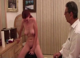 Brother watching her ride a Sybian