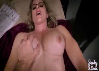 POV fucking with a trimmed pussy hoe