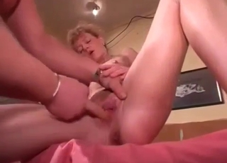 Redhead ready to take her son's cock