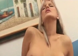 Anal gape for a really kinky young gal
