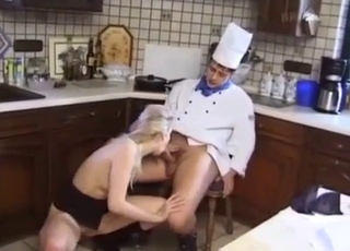Kitchen kinky incest with siblings