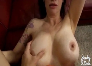 Trimmed pussy mommy fucked real hard