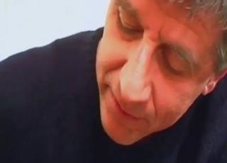 Daddy dildo-fucking his daughter