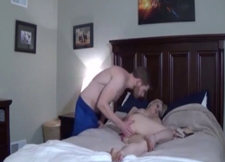 Scared MILF has to suck that dick