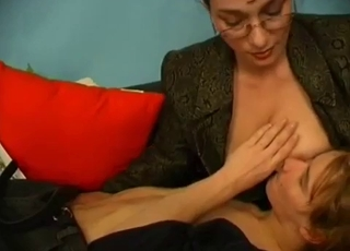 Intense banging with her horny boy