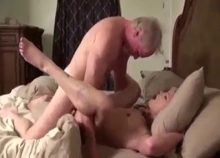 Playful old dude fucking his daughter